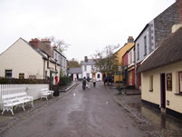 Village Street at Bunratty Castle Folk Park