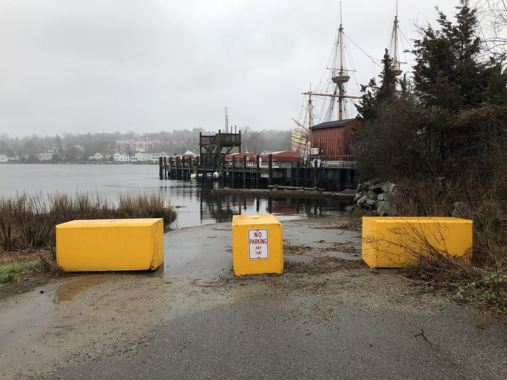 Isham Street Boat Launch March 2020